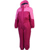 Color Kids Kazor Padded Coverall Kids Rasberry
